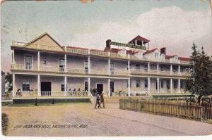 MACKINAC ISLAND, Michigan, PU-1918; John Jacob Astor House
