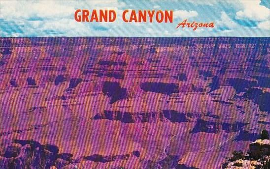 Arizona Grand Canyon South Rim View From One Of Many Magnificent Lookout Points