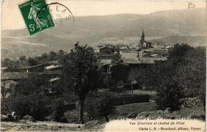 CPA Mont-Pilat-Véranne. Vue générale et Chaine du Pilat. (663713)