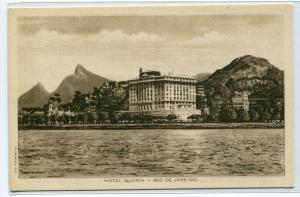 Hotel Gloria Rio De Janeiro Brazil postcard