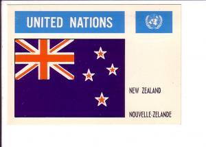 New Zealand, Flag, United Nations