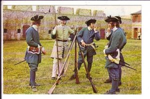 Fortress of Louisbourg, Soldiers, Nova Scotia, Parks Canada