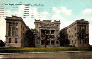 Texas Dallas Texas Baptist Memorial Sanitarium 1912 Curteich