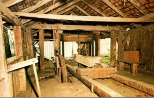 Pennsylvania Colonial Valley Menges Mills Water Powered Saw Mill West Of York