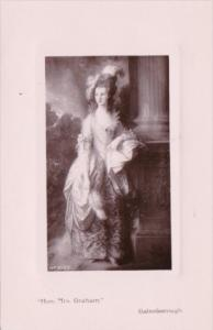 Honorable Mrs Graham by Gainsborough Davidson Brothers Real Photo Series