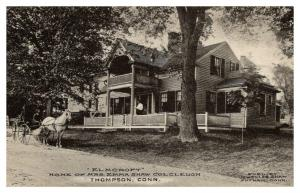 Connecticut   Thompson ,  Elmcroft, Home of Mrs.Emma Shaw Colcleugh