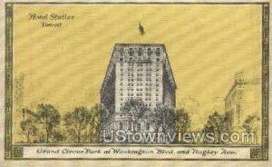 Hotel Statler in Detroit, Michigan