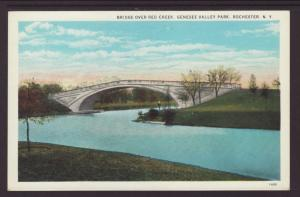 Bridge Over Red Creek,Genesee Valley Park,Rochester,NY