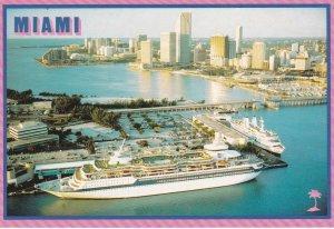 Cruise Ships , Miami , Florida , 70-90s