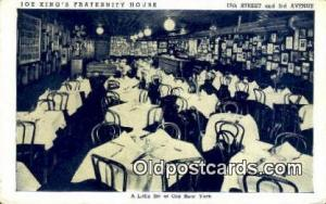 Joe King's Rathskeller Restaurant, New York City, NYC Postcard Post Card USA ...