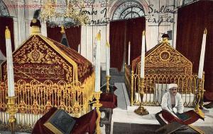 Turkey Instanbul Constantinople Tombeaux du Sultan Aziz et du Sultan Postcard