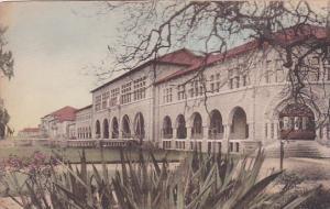 Front View Stanford University Palo Alto California Handcolored Albertype
