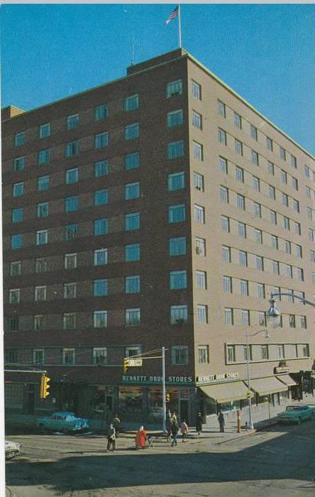 Northern Hotel, Billings Montana 1940-60s