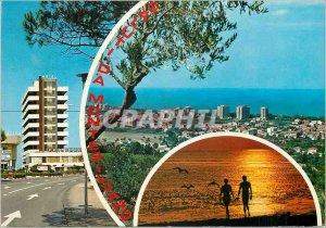 Postcard Modern Saluti da Montesilvano