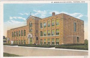 St. Wendelin High School, FOSTORIA, Ohio, PU-1936