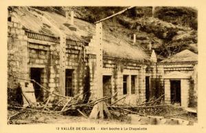 France - (WWI) Vallee de Celles, Ruins