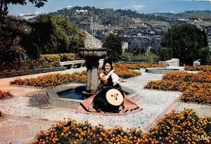France Nice Ses Jardins fleuris Garden Fountain