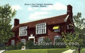 Missouri State Teachers Assoc. Columbia MO Unused