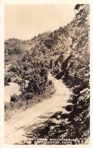 Laffollette to Williamsburg Tennessee~US Route 25 Highway~1940s RPPC