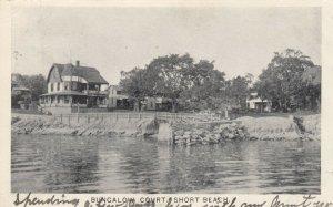SHORT BEACH , Connecticut , 1905 ;  Bungalow Court