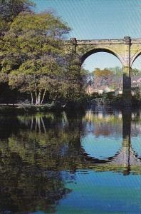 England Railway Bridge At Knaresborough