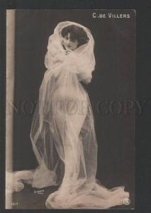 120506 DE VILLERS Dancer BALLET Star Vintage PHOTO STEBBING PC