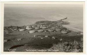 Rp Oil Tanks & ship terminal Argentinia,20-30s  Yacimientos Petroliferos. Los...