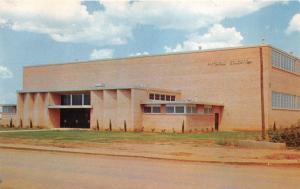 Altus Oklahoma~High School Physical Education Building~Info on Back~Built 1956