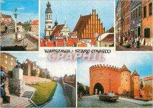 Postcard Modern Warszawa Stare Miasto