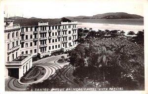 Parque Balneario Hotel, Vista Parcial Santos Brazil, Brasil Unused
