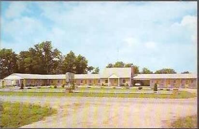 KY Harrodsburg Stone Manor Motel
