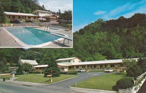 2-Views, Bennett's Court, Swimming Pool, BRYSON CITY, North Carolina, 1940-1960s