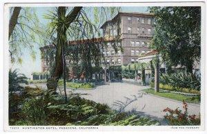 Pasadena, California, Huntington Hotel