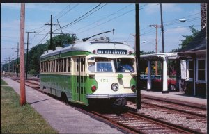 Trolley Trollies Transit Streetcar RTA/ITC #451 Cleveland Ohio 1950s-1970s