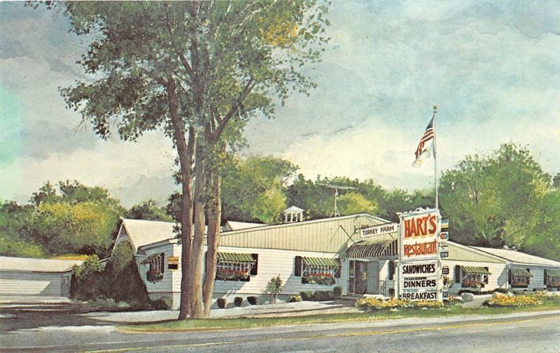 Meredith New Hampshire~Hart's Turkey Farm Restaurant~Roadside