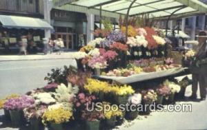 Sidewalk Flower Stands