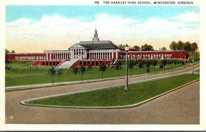 Virgina Winchester Handley High School