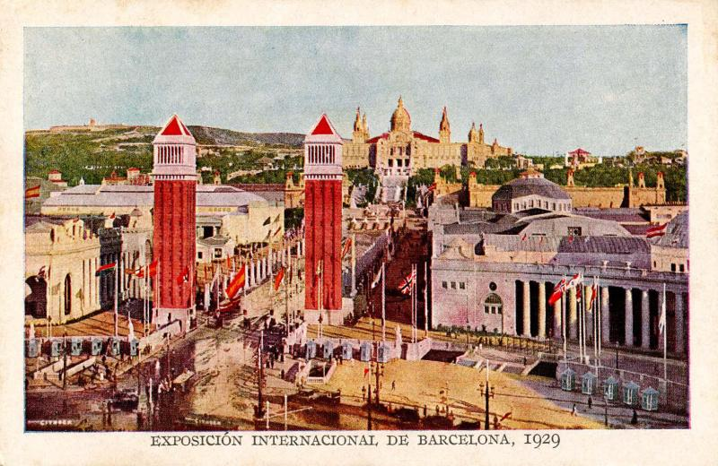 Spain - Barcelona, 1929. International Exposition, Entrance