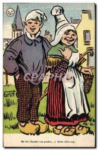 Old Postcard Fantasy Illustrator Griff