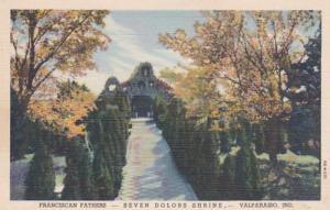 Indiana Valparaiso Seven Dolors Shrine Franciscan Fathers Curteich