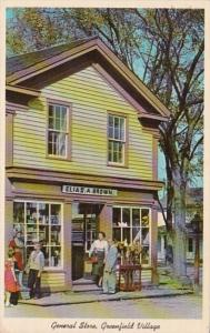 Michigan Dearborn Greenfield Village General Store 1964