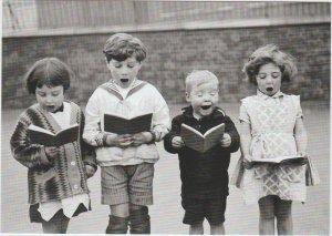 Children's choir England 1926