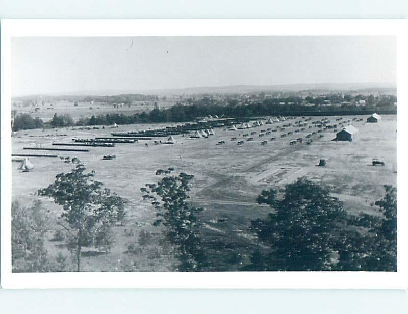 1950's rppc PINE CAMP - FORT DRUM IN 1930'S Watertown New