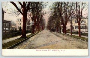 Mt Vernon New York~Second Avenue~Mansion Homes~2nd Empire Architecture~1908 PC