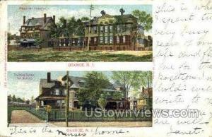 Orange, New Jersey, NJ Post Card Orange NJ 1904