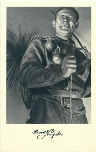 New Year Luck Chimney Sweep postcard