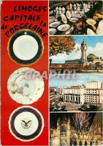 Modern Postcard Limoges Haute Vienne Capital of Porcelain