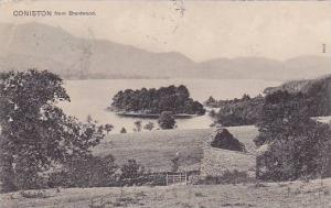 Coniston From Brantwood, Cumbria, England, UK, PU-1911
