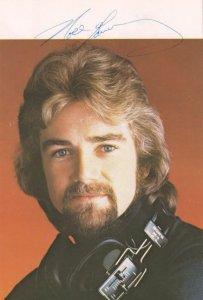Noel Edmonds Radio 1 DJ Hand Signed Vintage Photo