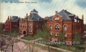 St.Luke's Hospital - Denver, Colorado CO